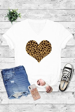 Caramelo Trend Leopard Heart - Alternate List Image