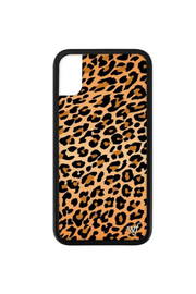 Wildflower Cases Leopard iPhone X Case - Front cropped