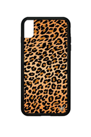 Wildflower Cases Leopard iPhone Xs Max Case - Front cropped