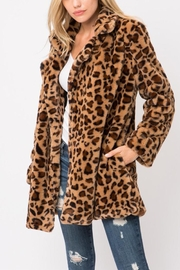 Love Tree Leopard Jacket - Product Mini Image
