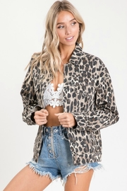 Apple B Leopard Jacket - Product Mini Image