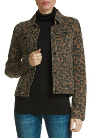 Elan Leopard Jean Jacket - Product Mini Image