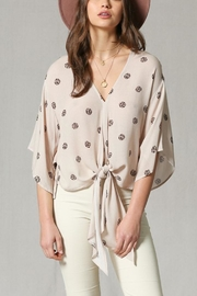 By Together Leopard Kimono Top - Product Mini Image