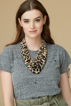 Mignonne Gavigan Leopard Le Charlot Scarf Necklace - Product List Image