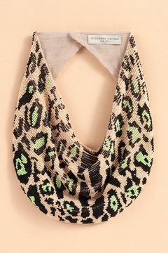 Mignonne Gavigan Leopard Le Charlot Scarf Necklace - Alternate List Image
