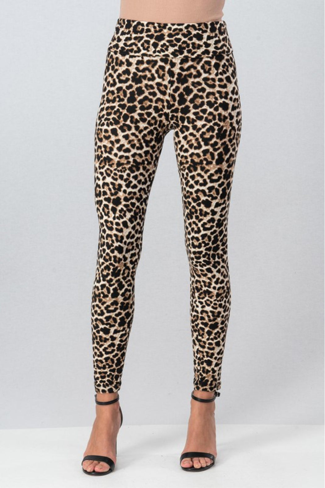 Trend Notes  Leopard Legging - Main Image