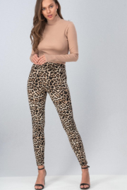 Trend Notes  Leopard Legging - Side cropped