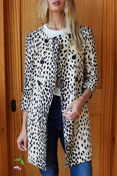 Emerson Fry LEOPARD LONDON COAT - Product List Image