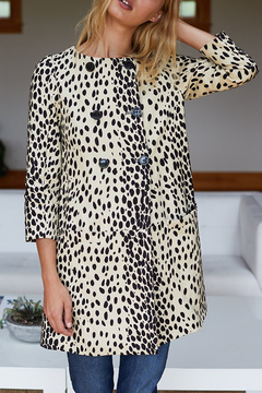 Emerson Fry LEOPARD LONDON COAT - Alternate List Image