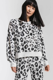 z supply Leopard Long Sleeve top - Product Mini Image