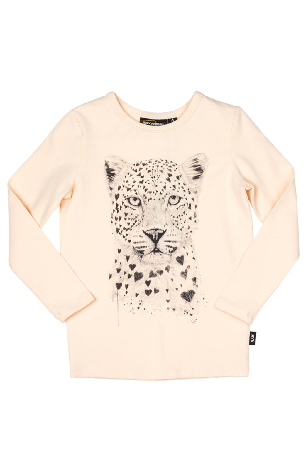 Rock Your Baby Leopard Love Top - Main Image