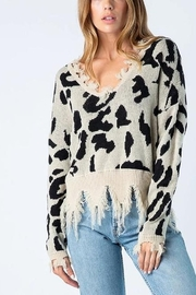 Wellmade Leopard Lovin' Sweater - Product Mini Image