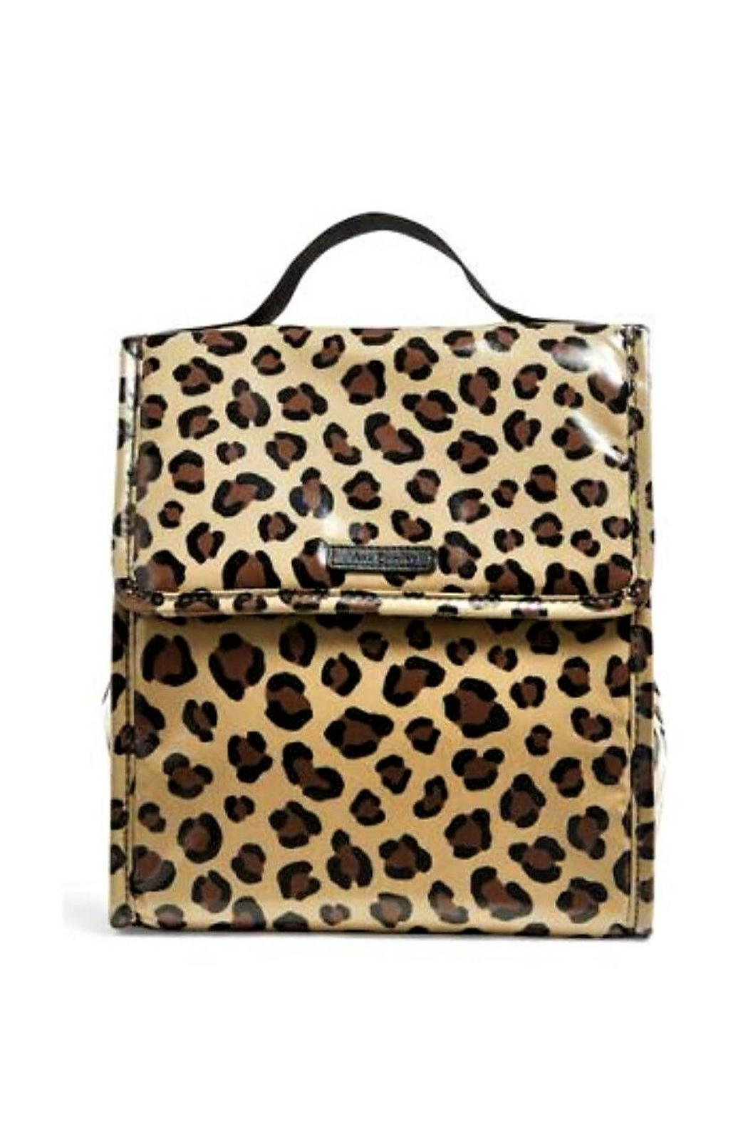 Vera Bradley Leopard Lunch Sack - Front Cropped Image