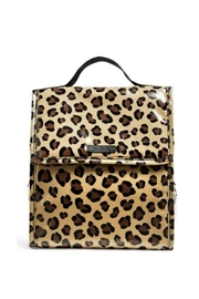 Vera Bradley Leopard Lunch Sack - Front cropped