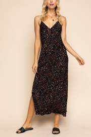 Gilli Leopard Maxi Dress - Front cropped
