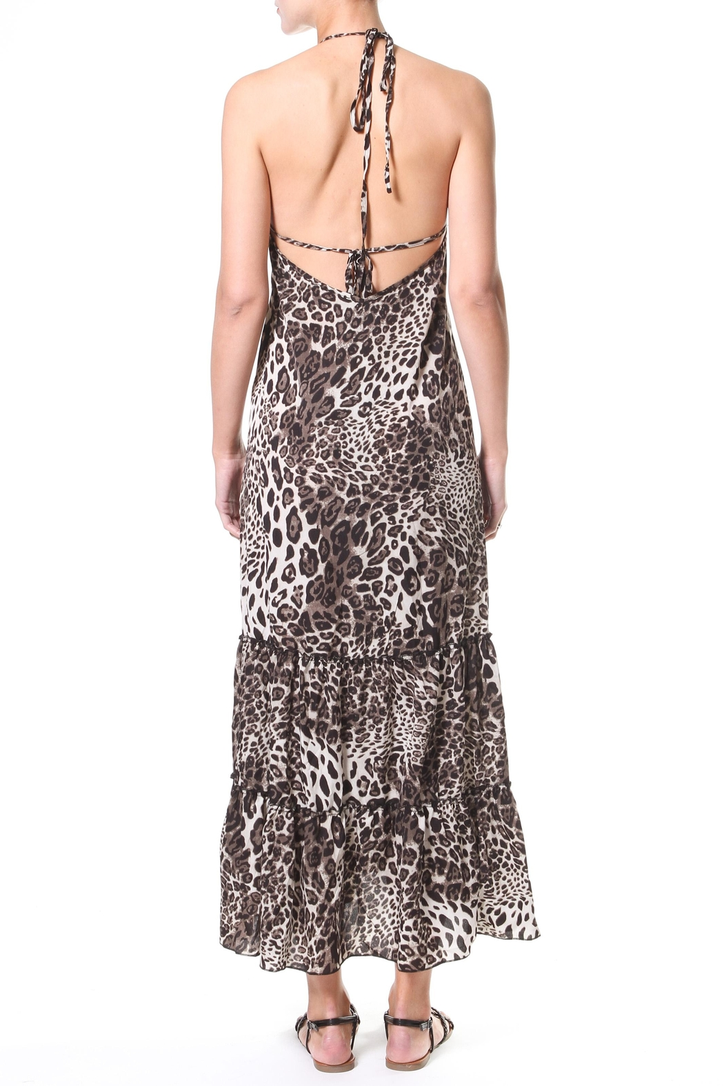 Madonna & Co Leopard Maxi - Side Cropped Image
