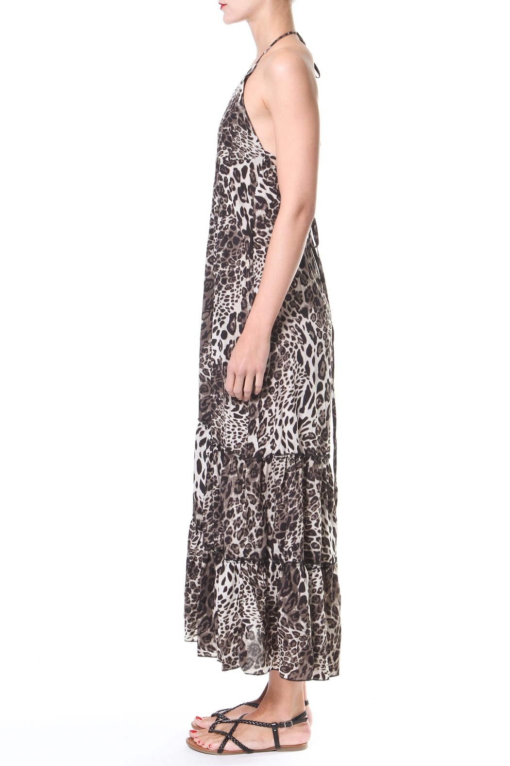 Madonna & Co Leopard Maxi - Front Full Image