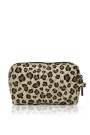Vera Bradley Leopard Medium Cosmetic - Front cropped