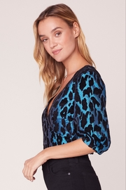 BB Dakota Leopard Metallic Top - Front full body