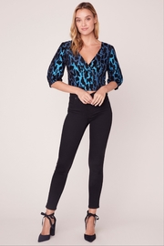 BB Dakota Leopard Metallic Top - Front cropped