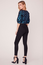 BB Dakota Leopard Metallic Top - Side cropped