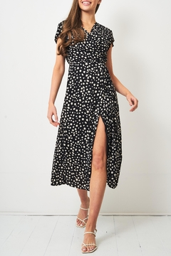 frontrow Leopard Midi Dress - Product List Image