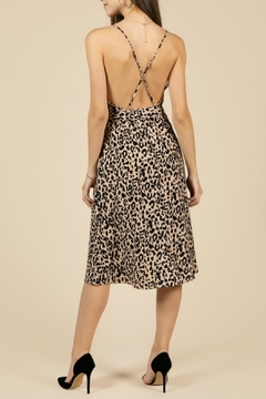 Pretty Little Things Leopard Midi Dress - Alternate List Image