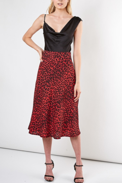 Do & Be Leopard Midi Skirt - Product List Image
