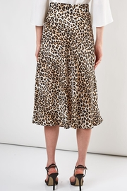Do & Be Leopard Midi Skirt - Side cropped