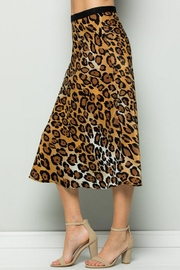 ee:some Leopard Midi Skirt - Other