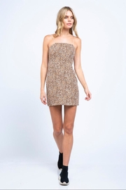 skylar madison Leopard Mini Dress - Product Mini Image