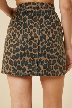 Hayden Leopard Mini Skirt - Alternate List Image
