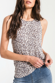 z supply Leopard Muscle Tank - Product Mini Image