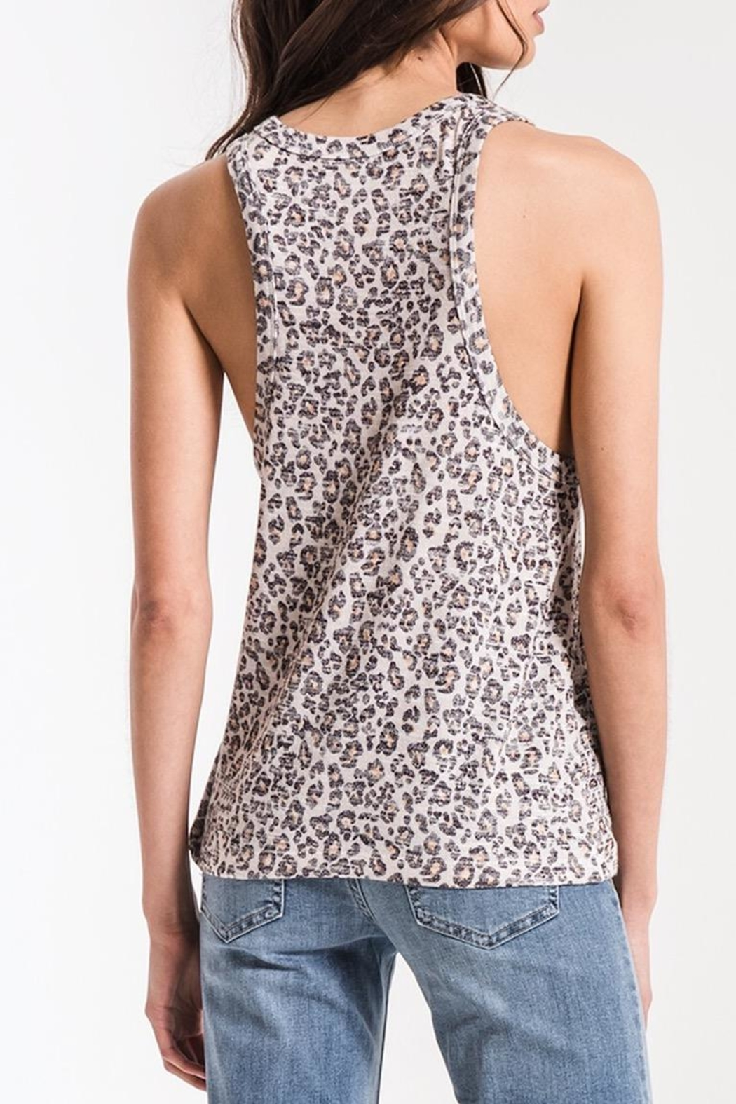 Zsupply Leopard Muscle Tank - Front Full Image
