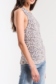 Zsupply Leopard Muscle Tank - Side cropped