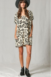 By Together  Leopard Oversized tunic - Product Mini Image