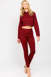 TIMELESS Leopard Pants - Front cropped