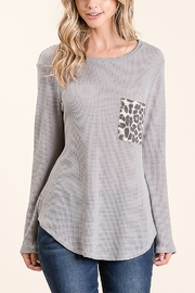 Lyn -Maree's Leopard Pocket Long Sleeve - Product Mini Image