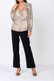 Current Air Leopard print blouse - Front cropped