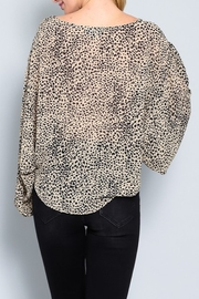 AAKAA Leopard Print Blouse - Side cropped