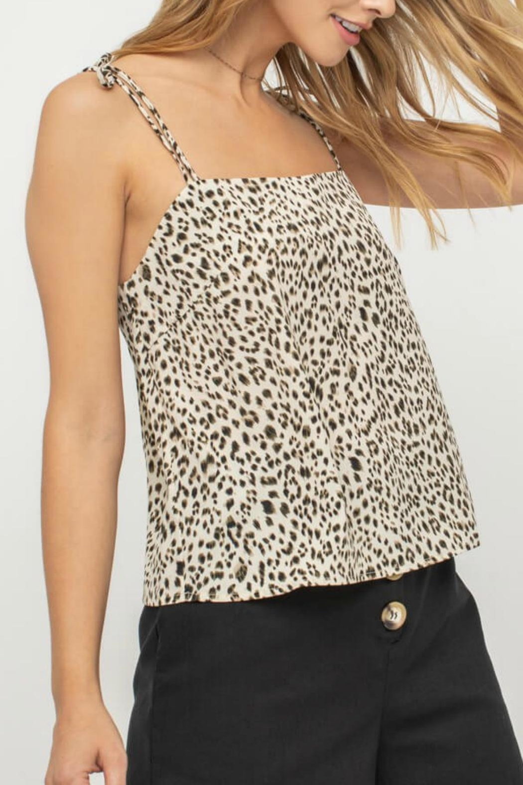 dca1961b514dfb Pretty Little Things Leopard Print Cami from New Hampshire — Shoptiques