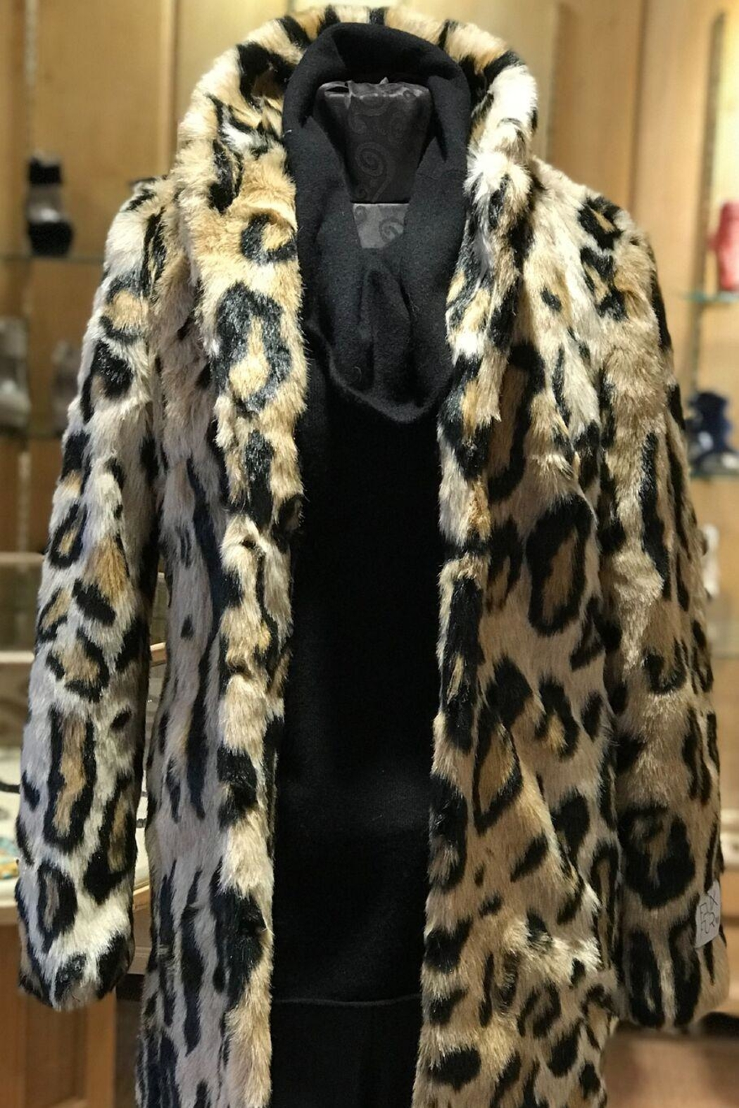 938997187101 Rino Pelle Leopard Print Coat from Colorado by Pepi Sports — Shoptiques