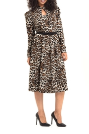 Voodoo Vixen Leopard Print Dress - Product Mini Image