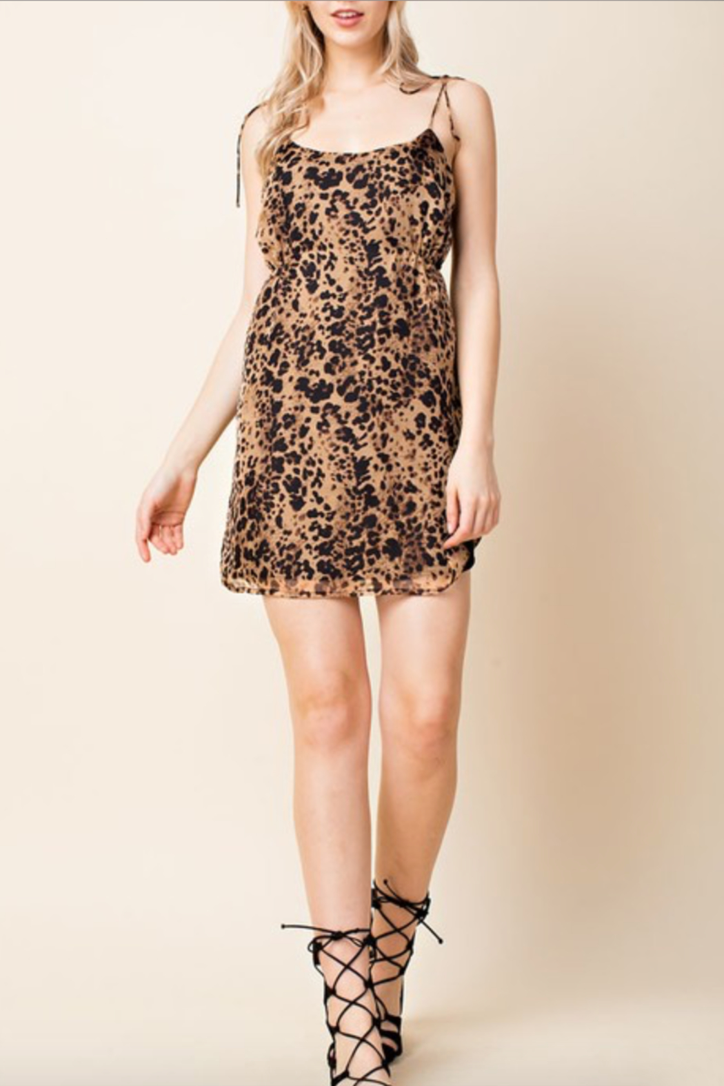 e1a7bc1639 Honey Punch Leopard Print Dress from Marina by y i clothing boutique ...