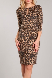 Blvd Leopard Print Dress - Product Mini Image