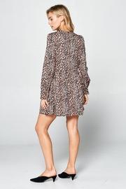 Racine Leopard Print Dress - Side cropped
