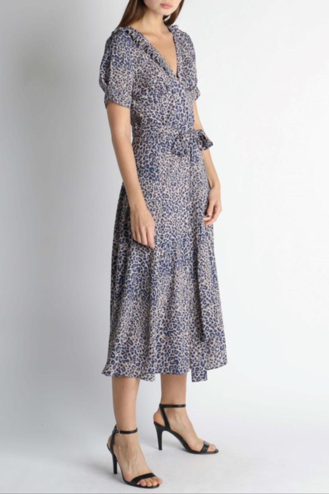 Current Air Leopard Print Dress - Front Full Image