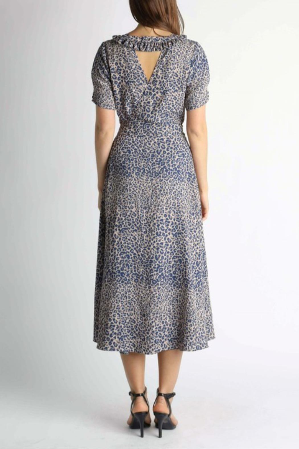 Current Air Leopard Print Dress - Side Cropped Image