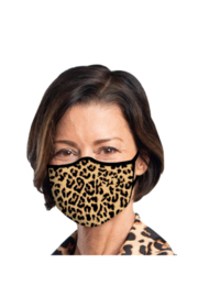 DiJore Leopard Print Face Mask - Product Mini Image