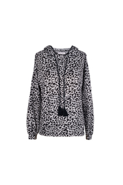 Billy T Leopard Print Hoodie - Product Mini Image